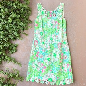 Lilly Pulitzer Shiloh Dress in Splash Blue Sandbar